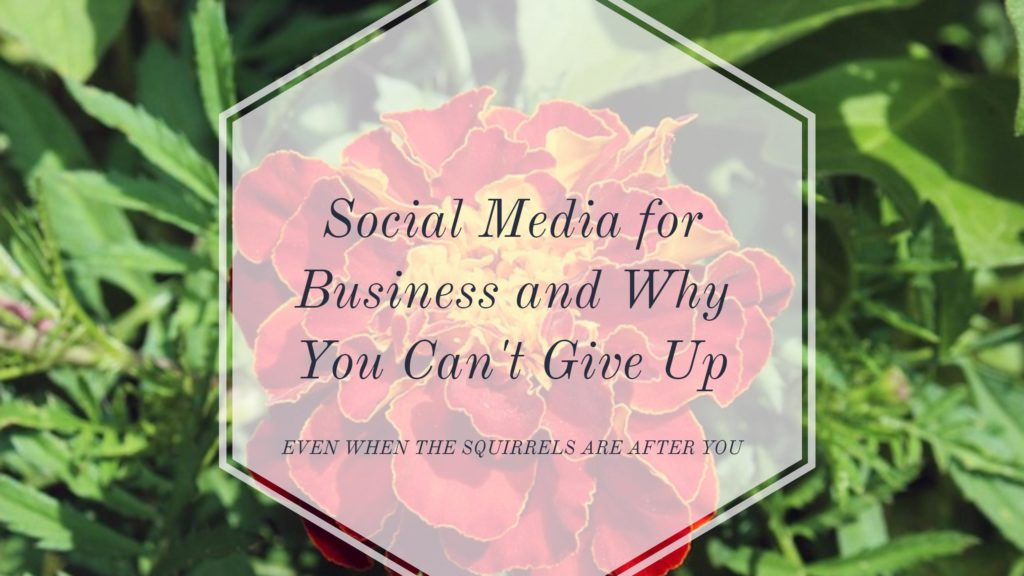 Don't give up on social media