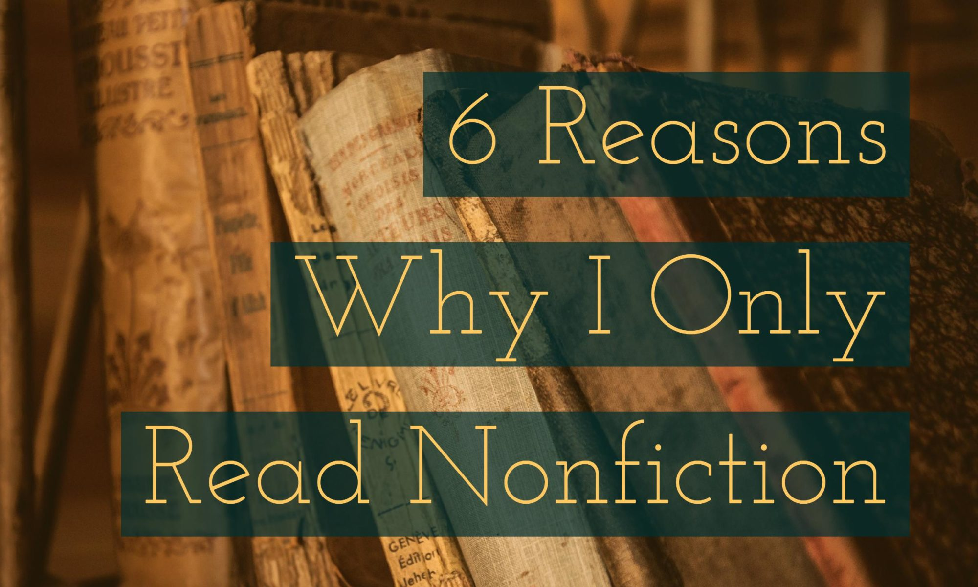 Why nonfiction makes you a better storyteller